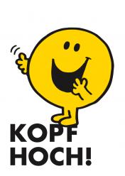 Postkarte »Kopf Hoch«, EAN 42-80000-63201-2