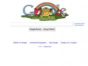 am 9. Mai 2011 gab es 16 verschiedene Google-Doodles der Mister Men und Little Miss