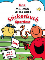 Das Mr. Men Little Miss Stickerbuch – Sportfest, ISBN 978-3-943919-45-5