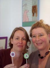 Susanna Rieder und Ruth Feile